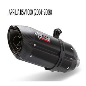 미브 RSV1000 BLACK 스틸 (2004-2008) 수오노 슬립온 머플러 아프릴리아