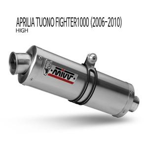 미브 투오노 파이터1000 (high) 슬립온 (2006-2010) 오벌 스틸 머플러 아프릴리아