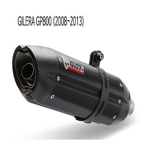 미브 GP800 (2008-2013) 수오노 블랙 스틸 풀시스템 머플러 질레라