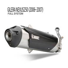 미브 넥서스250 어반 스틸 풀시스템 (2006-2007) 머플러 질레라