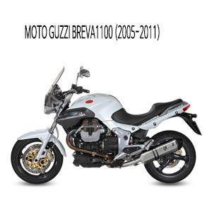 미브 브레바1100 머플러 모토 구찌 (2005-2011) 스피드엣지 스틸 슬립온