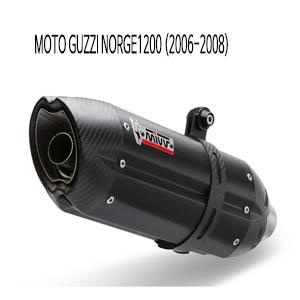 미브 NORGE1200 수오노 블랙 스틸 슬립온 (06-08) 머플러 모토 구찌