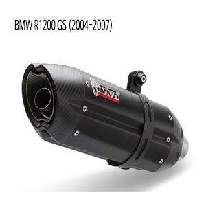 미브 R1200GS 블랙 스틸 슬립온 (2004-2007) 수오노 머플러 BMW