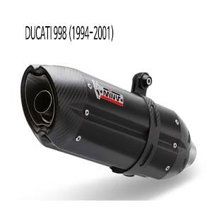 미브 998 수오노 BLACK 스틸 슬립온 머플러 두카티 (94-01)