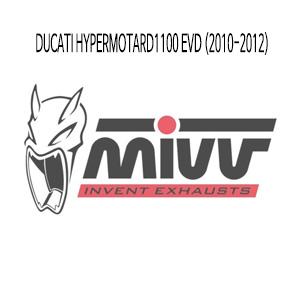 미브 하이퍼모타드1100 EVD 헤드파이프 머플러 두카티 (10-12) 메니폴더 스틸