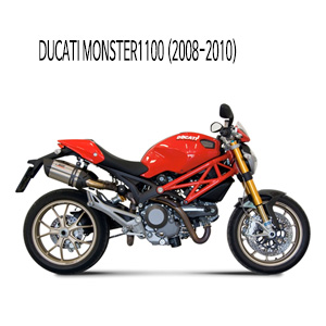 미브 몬스터1100 (STEEL) 수오노 슬립온 머플러 두카티 (08-10)