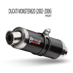 미브 몬스터620 (02-06) GP BLACK STEEL (high) 슬립온 두카티 머플러