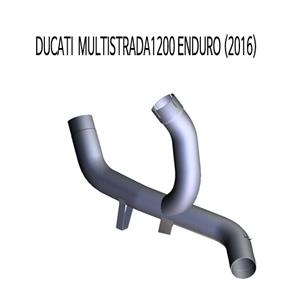 미브 두카티 멀티스트라다1200 ENDURO (2016) 스틸 슬립온 머플러