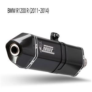 미브 R1200R 스피드엣지 블랙 (11-14) 스틸 슬립온 머플러 BMW