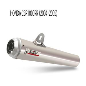 미브 (2004-2005) 엑스콘 플러스 스틸 슬립온 머플러 혼다 CBR1000RR