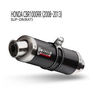 미브 CBR1000RR GP 블랙 스틸 (2008-2013) 슬립온(KAT) 머플러 혼다