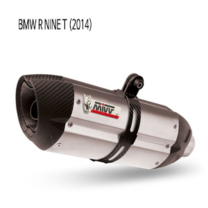 미브 알나인티 수오노 스틸 (high) 슬립온 머플러 BMW (2014)