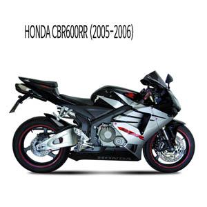 미브 (2005-2006) 수오노 블랙 스틸 슬립온 머플러 혼다 CBR600RR