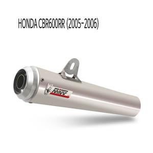 미브 2005-2006 엑스콘 스틸 슬립온 머플러 혼다 CBR600RR