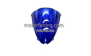 스크린/레이싱/이리듐/클리어/스모그/Kawasaki ZX-6R 05-08 ZX-10R 06-07 Blue 15