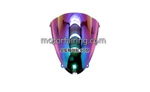 스크린/레이싱/이리듐/클리어/스모그/Kawasaki ZX-6R 05-08 ZX-10R 06-07 Iridium Smoke 20