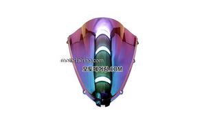 스크린/레이싱/이리듐/클리어/스모그/Kawasaki ZX-14RZZR1400 06-11 Iridium Smoke 20