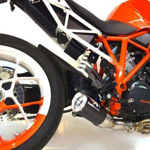 KTM 오스틴레이싱 머플러 도시락 제거용 SUPERDUKE 1290 GP3 BELLY EXIT DE-CAT EXHAUST SYSTEM