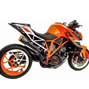 KTM 오스틴레이싱 머플러 도시락 제거용 SUPERDUKE 1290 ST RANGE GP1 HI SLUNG DE-CAT EXHAUST SYSTEMS