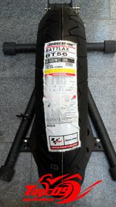 [브릿지스톤 오토바이 타이어]BT56 [120/70-17]
