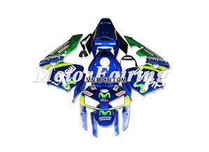 혼다 CBR600RR 육백알알 F5 2005-2006 Green Blue 235 오토바이 사제카울 부품