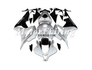 혼다 CBR600RR 육백알알 F5 2007-2008 White Black 235 오토바이 사제카울 부품