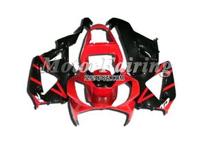 혼다 CBR900RR 929 2000-2001 Red Black  260 오토바이 사제카울 부품