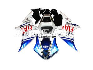 야마하 YZF R1 알원 2004-2006 200 오토바이 사제카울 부품