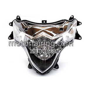 헤드라이트/SuzukiGSXR1000 k9 2009-2011 Headlight Clear 180