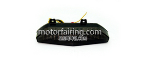 테일라이트/데루등/Kawasaki ZX-6R 2007-2008 Tail Light Smoke 30