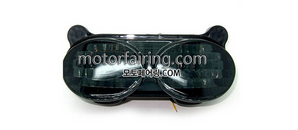 테일라이트/데루등/Kawasaki ZX-6R 1998-2002 Tail Light Smoke 30