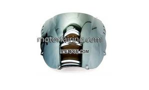 스크린/레이싱/이리듐/클리어/스모그/HONDA CBR900RR 919 97-99 Chrome 20