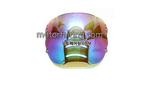 스크린/레이싱/이리듐/클리어/스모그/HONDA CBR900RR 919 97-99 Iridium Clear 20