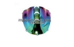 스크린/레이싱/이리듐/클리어/스모그/HONDA CBR954RR 02-03 Iridium Smoke 20