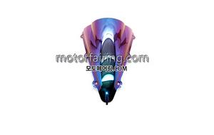 스크린/레이싱/이리듐/클리어/스모그/YZF1000 R1 04-06 Iridium Smoke 20