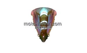스크린/레이싱/이리듐/클리어/스모그/YZF600 R6 03-05 R6S 06-09 Iridium Clear 20