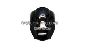 스크린/레이싱/이리듐/클리어/스모그/Kawasaki ZX-6R 00-02 Black 15