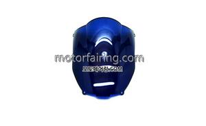 스크린/레이싱/이리듐/클리어/스모그/Kawasaki ZX-6R 00-02 Blue 15