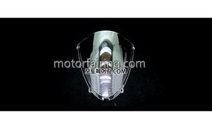 스크린/레이싱/이리듐/클리어/스모그/Kawasaki ZX-6R 05-08 ZX-10R 06-07 Clear 15