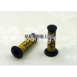튜닝그립 XH4066 블랙+옐로우색상