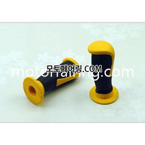튜닝그립 XH4087 노랑+검정 배색