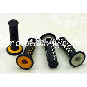 튜닝그립 XH4088 도트무늬디자인 (노랑,흰색 색상선택)