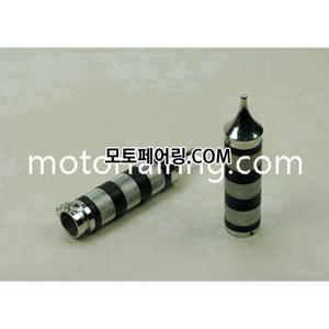 튜닝그립 TRHB109A 고급스러운 크롬+검정배색