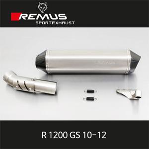 레무스 10-12년식 BMW R1200GS 핵사곤 티탄 EEC 60mm 슬립온 아크라포빅