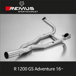 레무스 (16-)BMW R1200GS어드벤쳐 스테인레스 중통(2-1) no cat. 스테인레스 RACE (no EC) 매니폴더 아크라포빅