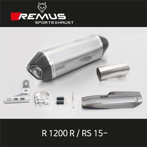 레무스 BMW R1200R/RS 15- EEC 66mm 카본가드/스테인레스 슬립온 핵사곤 아크라포빅