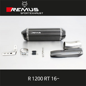 레무스 BMW R1200RT(16-) 66mm EC 핵사곤 슬립온 카본가드/카본 매니폴더 아크라포빅