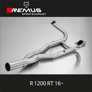 레무스 BMW R1200RT 16- 스테인레스 중통(2-1) no cat. 스테인레스 RACE (no EC) 매니폴더 아크라포빅