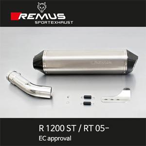 레무스 BMW R1200ST/RT 05- 티탄 EEC 54mm 핵사곤 슬립온 아크라포빅