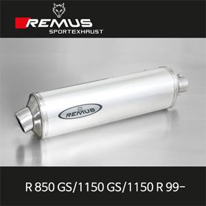 레무스 BMW 99-년식 R850GS/1150GS/1150R 99- REVOLUTION no cat 알루미늄 EEC 슬립온 아크라포빅
